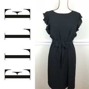 NWT Elle Black Mini Garden Party Dress Size XS